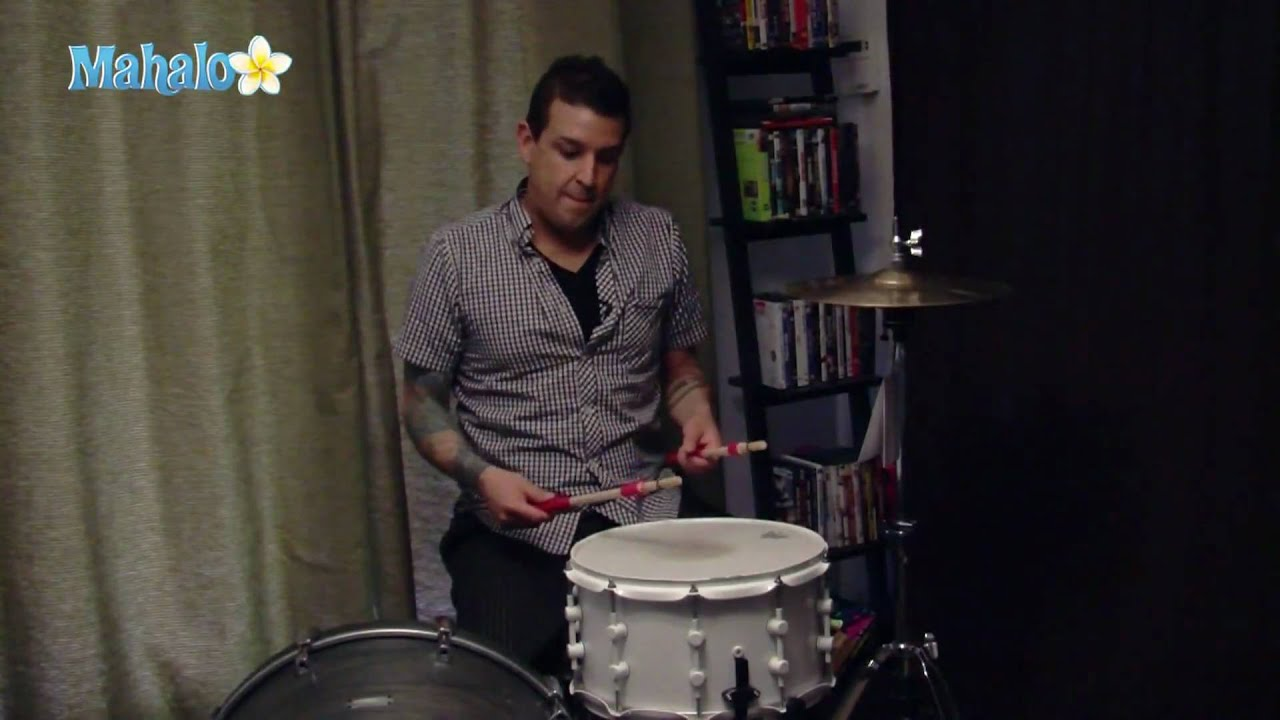 how to play snare drum notes