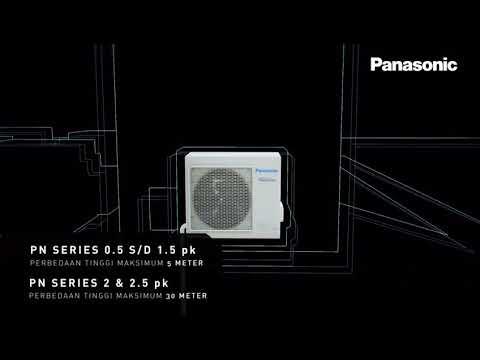 2018 Panasonic i-Auto Low Voltage Air Conditioner's (CS-LN5UKJ) Indoor's