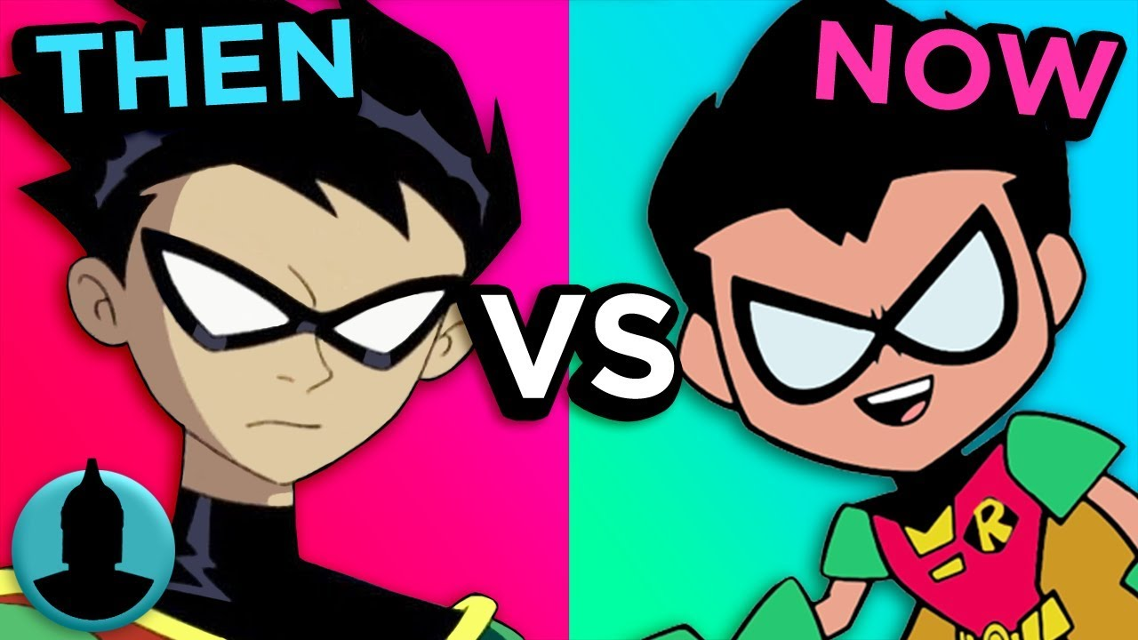 Download The Evolution From Teen Titans to Teen Titans Go! | Channel Frederator