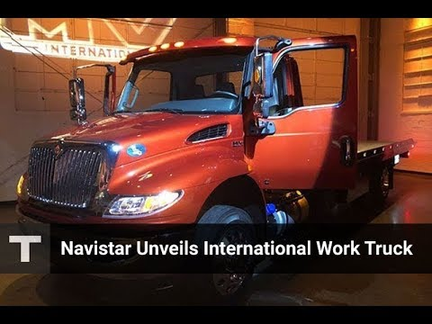 Navistar Unveils NEW International MV Work Truck