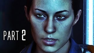 Alien Isolation Walkthrough Gameplay Part 2 - Welcome to Sevastopol (PS4)