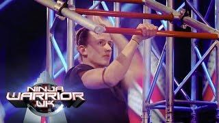 Matt McCreary runs the course at full speed  | Ninja Warrior UK