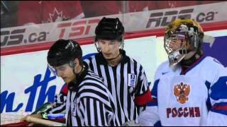 U 20 Полуфинал Канада - Россия 2012. Судьи убивают Россию.(