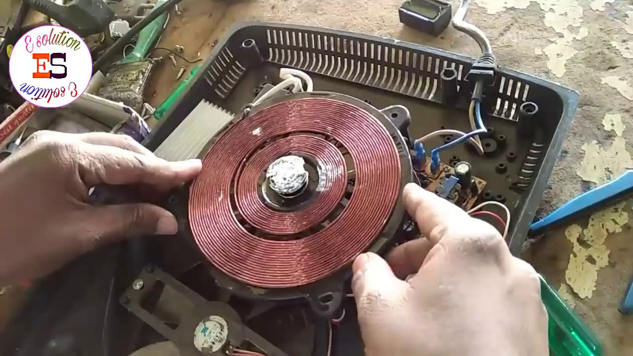 How To Repair Induction Cooker Error Code E0by E Solution Youtube Heating Vacuum Tube Schematics Get Free Image