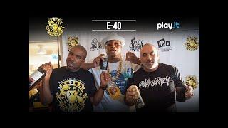 DRINK CHAMPS: Episode 31 w/ E-40 | Talks Bay Area Hip Hop, Business Ventures, + more