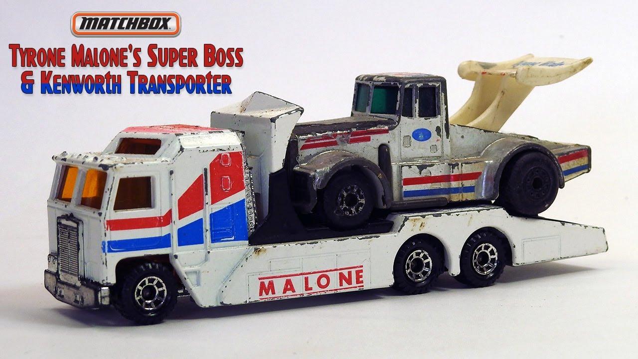 Matchbox Restoration Tyrone Malone's Super Boss & Kenworth Transporter