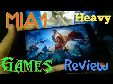 Xiaomi MiA1 Heavy Games Review