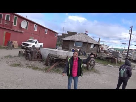 Exploring Nome Alaska: Chased Off By A Drunk Eskimo