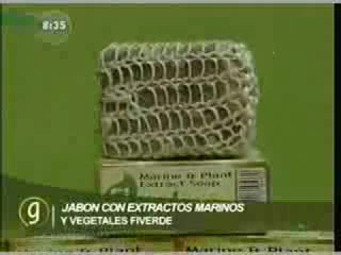 Jabon Fiverdee, extraexfoliante, con extractos marinos y veg
