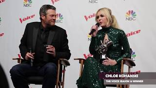 Team Blake Wins AGAIN! Blake Shelton & Chloe Kohanski On Their Season 13 Victory & What's Next!