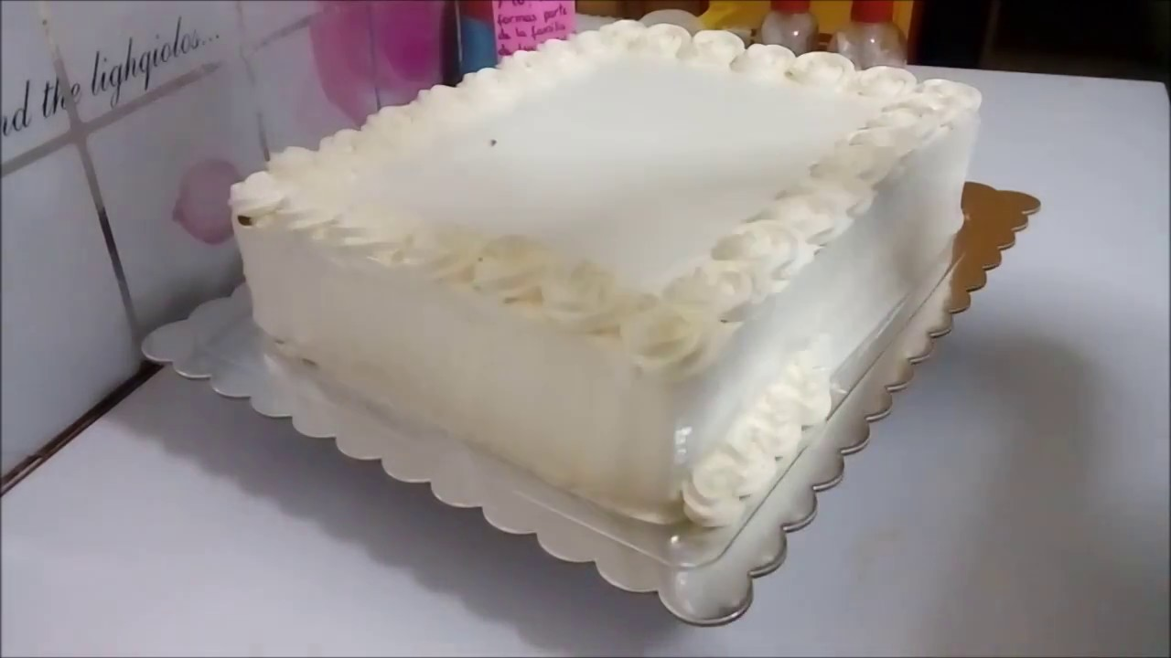 Pasteles de crema sin parar