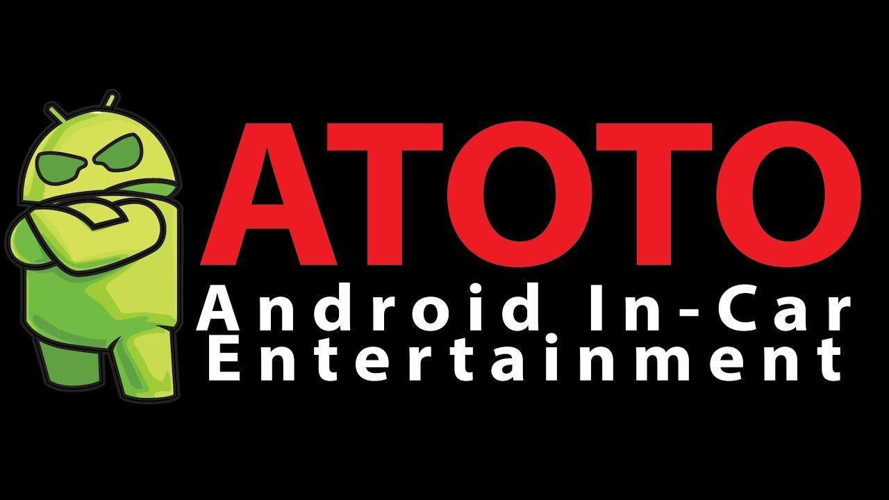 ATOTO A6 Premium A62721PB 2G 32G ATOTO A6 2DIN Android Car Navigation  Stereo Dual Bluetooth