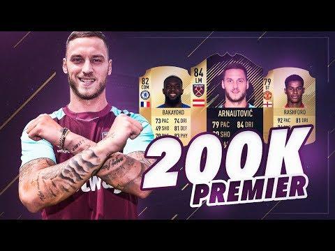 FIFA 18 | LA MEJOR PREMIER LEAGUE POR 200K !!