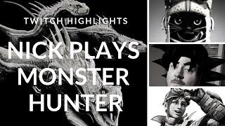 Choosing A Weapon Monster Hunter World (BLIND PLAY)