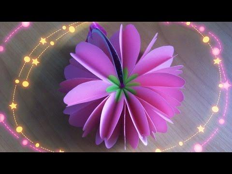 Как Сделать Блокнот Сердце Цветок. Подарок  Своими Руками. Подробный Мастер Класс