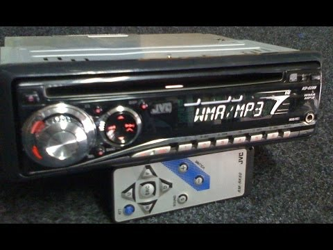 Auto Rádio CD Player JVC KD-G289UR MP3 WMA + LEITOR USB