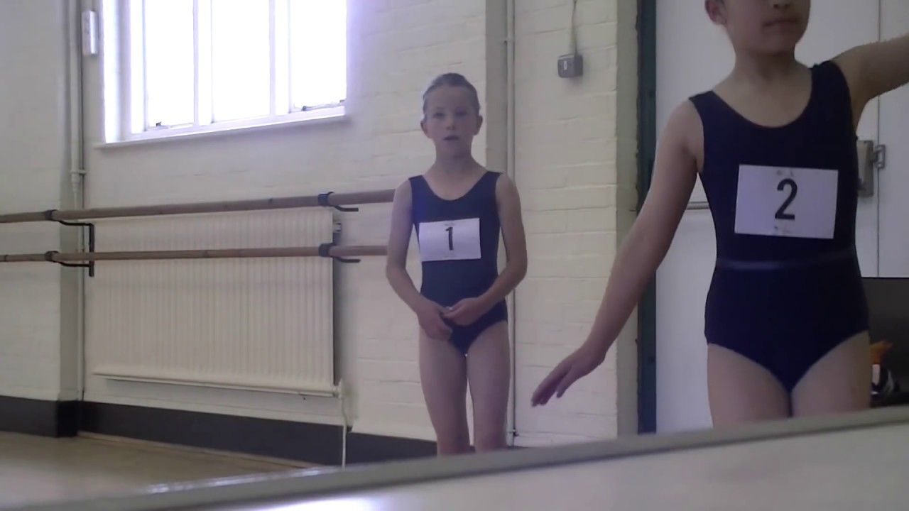 Grade 1 ballet - mock exam 7 years (RAD)