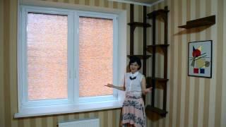 Рулонные шторы на пластиковые окна(, 2014-08-13T15:33:54.000Z)