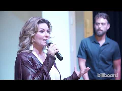 Shania Twain on Brad Pitt's name in 'That Don't Impress Me Much' - Spotify Listening Party