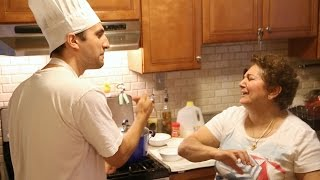 Angelo And His Mom's Rice Pudding Cook Off - Part 1