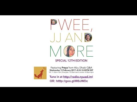 Pwee, JJ, & More (Live Radio) Episode 10 Abu Dhabi Q&A