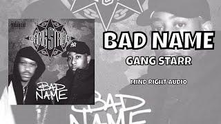 Gang Starr - Bad Name (Lyrics)