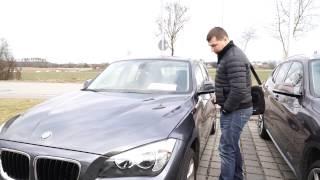 Осмотр BMW X1 E84 авто из Германии в Украину.