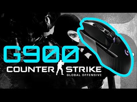 Logitech G900 Chaos Spectrum CSGO Gameplay - Best Wireless Gaming Mouse!