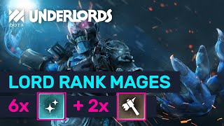 LORD RANK MAGES! High Rank Brute Mage Combo! | Dota Underlords