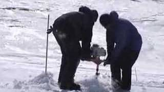 Ice Fishing in Nunavut - Funny!