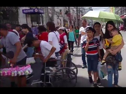 Downtown Cebu City: Colon St. / Plaza Independencia Street Walk Live Stream