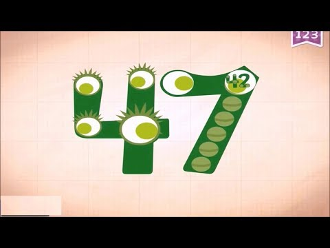 Learn Number 45, 46 And 47 In English & Counting, Math By Endless Numbers   Kids Video