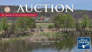 Holland Township NJ Real Estate Auction