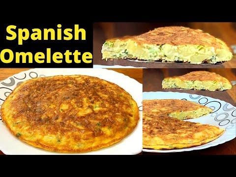 स्पेनिश-आमलेट-बनाने-का-आसान-तरीका-|-spanish-omelette-recipe-|-spanish-omelette-in-indian-style