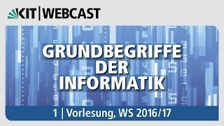 01: Grundbegriffe der Informatik, Vorlesung, WS 2016/17