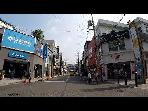 Downtown Andong-si, South Korea : The Capital of Korean Mental Culture (한국 정신문화의 수도, 안동 시내 모습)