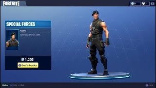 Special Forces Character Skin - Daily Outfit in Fortnite Battle Royale