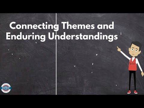 Georgia Standards Of Excellence - Social Studies - Connecting Themes And Enduring Understandings