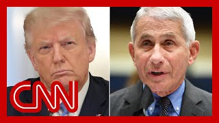 White House takes aim at Fauci as Trump touts their relationship