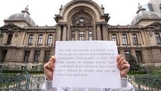 Flash mob pentru Holocaust - conștientizarea genocidului romilor