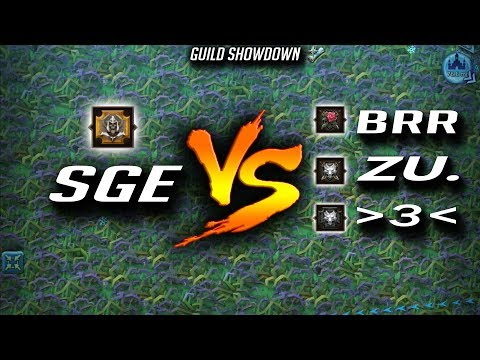 SGE Vs BRR And ZU. Guild Showdown - Lords Mobile