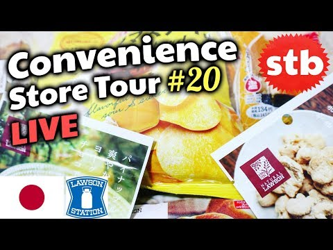 Lawson Japan Food Taste Test Live Convenience Store Tour