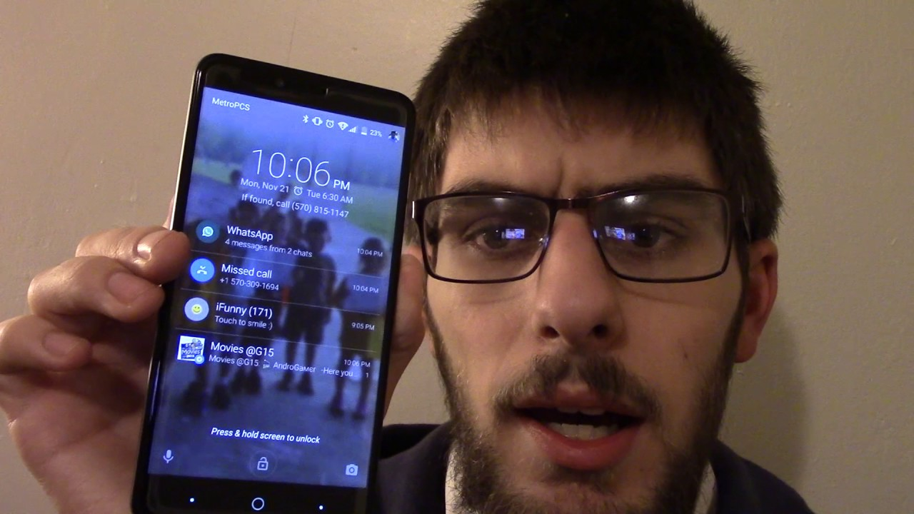 How to fix a frozen screen on the ZTE Zmax Pro