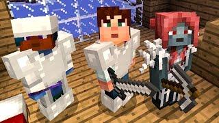 С РОДИТЕЛЯМИ В МАЙНКРАФТ ПЕ! Выживание, Летсплей. Minecraft PE 1.0.1 на Телефоне