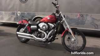New 2013 Harley Davidson Dyna Wide Glide Motorcycle for sale