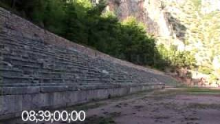 0088 The ancient stadium of the Pythian Games in Delphi, Greece