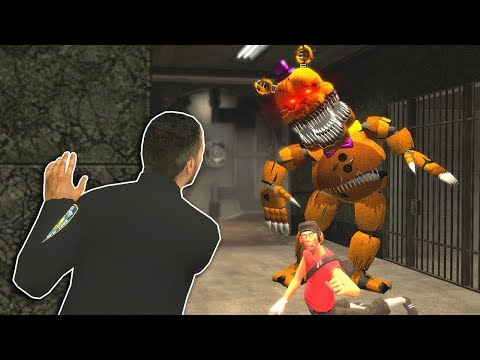 FIVE NIGHT'S AT FREDDY'S & SCP ESCAPE! - Garry's Mod Multiplayer Gameplay - FNAF Gmod Survival