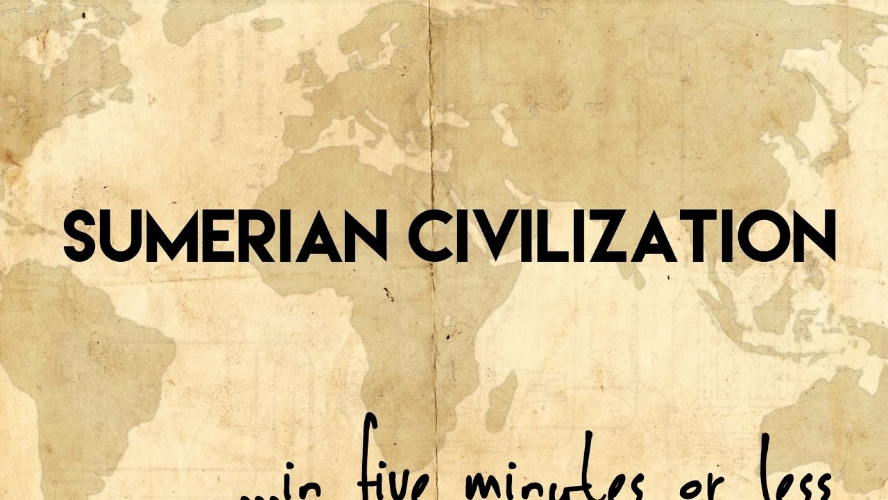 sumerian civilization Thus the advent of civilization in sumer is associated with the beginning of the  bronze age in the west, which in time spread to egypt, europe, and asia.