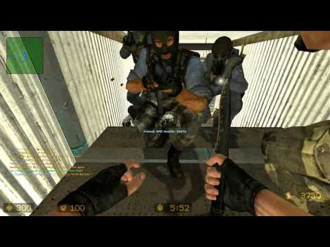 Counter Strike Source Zombie Escape #7