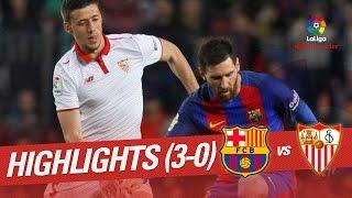 Download Video Resumen de FC Barcelona vs Sevilla FC (3-0) MP3 3GP MP4